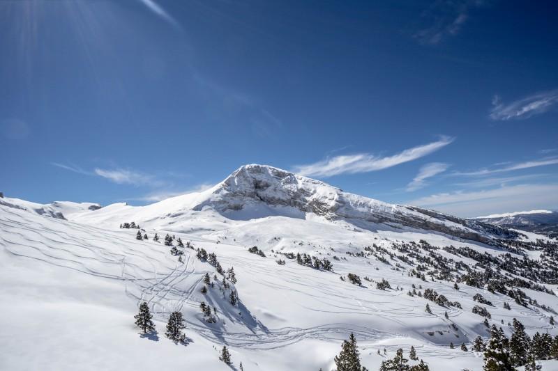 Montagne ski alpin