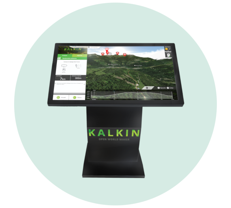borne Kalkin office tourisme